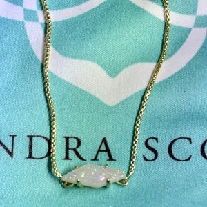 Kendra Scott Limited Edition Opal Drusy necklace